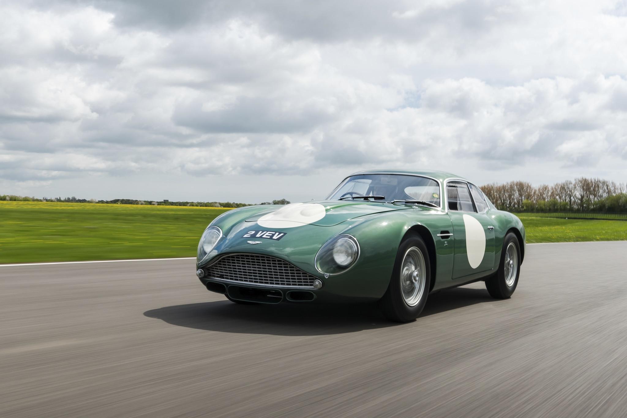1961 Aston Martin Mp209 Db4gt Zagato Brings 13 302 239 In Record