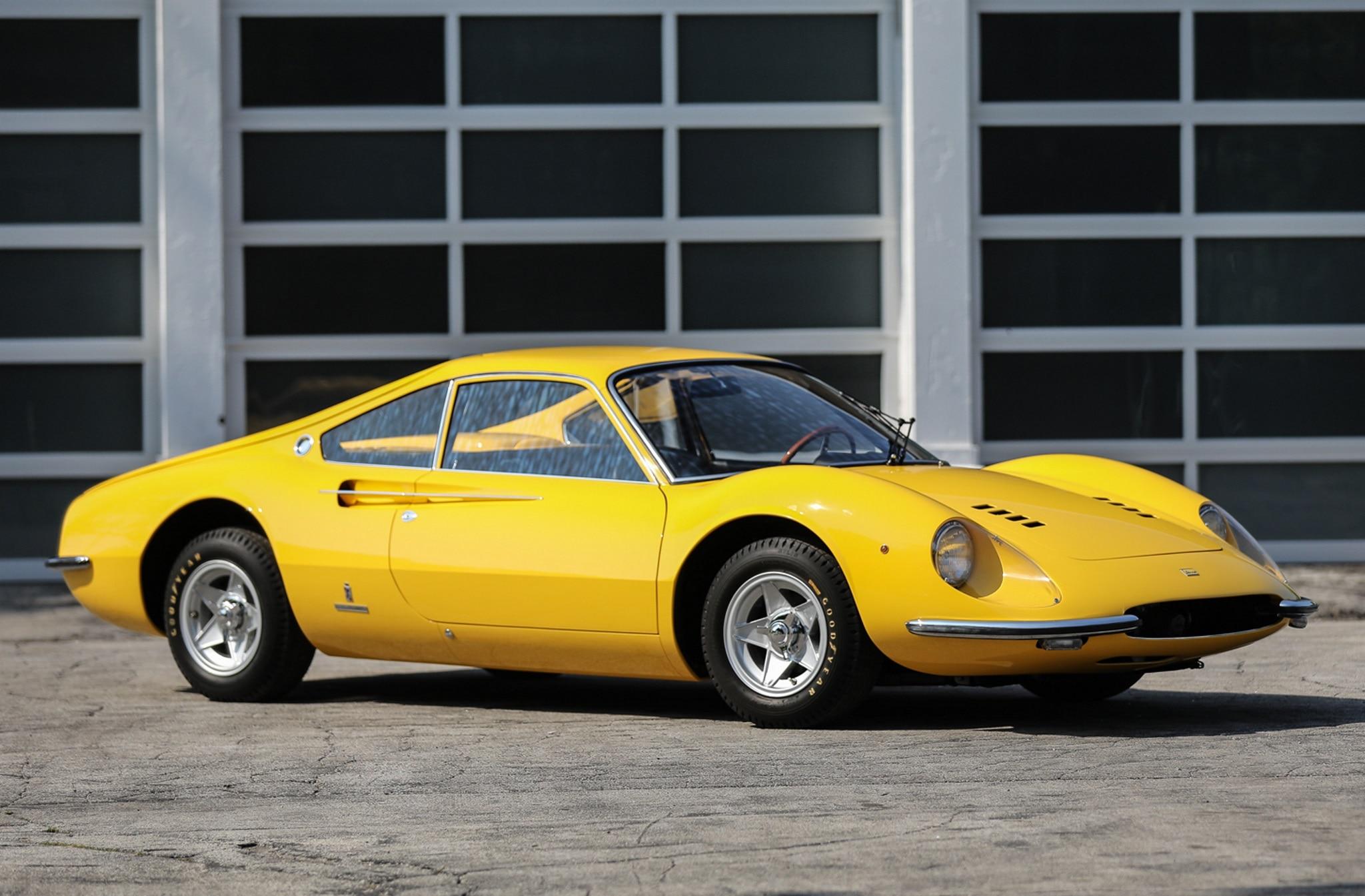1966_Ferrari_206_GT_Dino_Prototipo_front Three Quarter