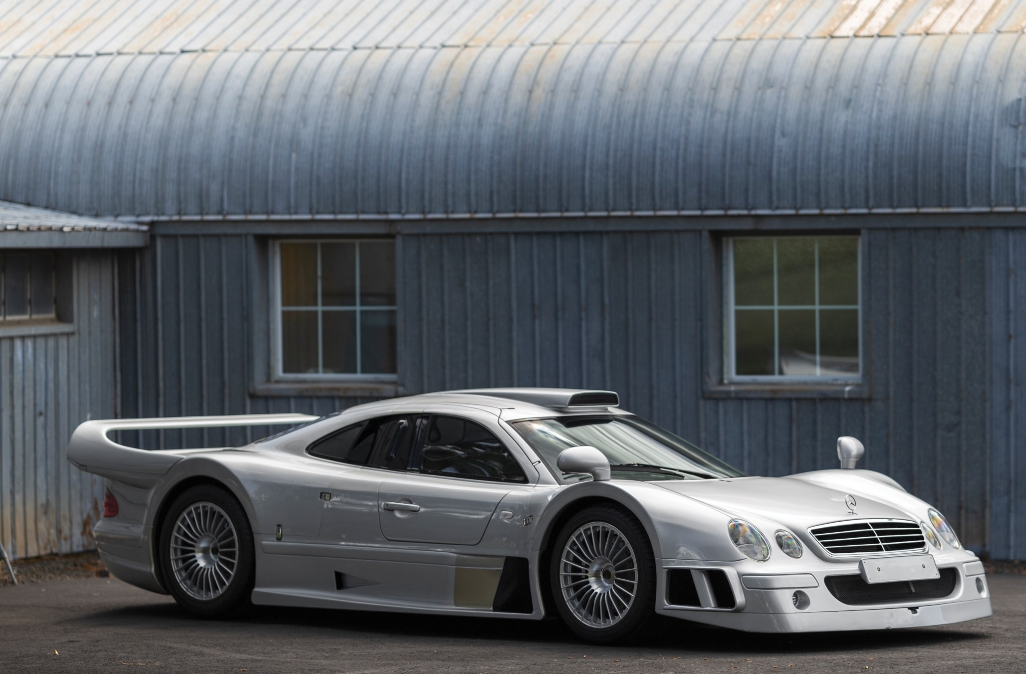 1998 Mercedes Benz AMG CLK GTR Front Three Quarter