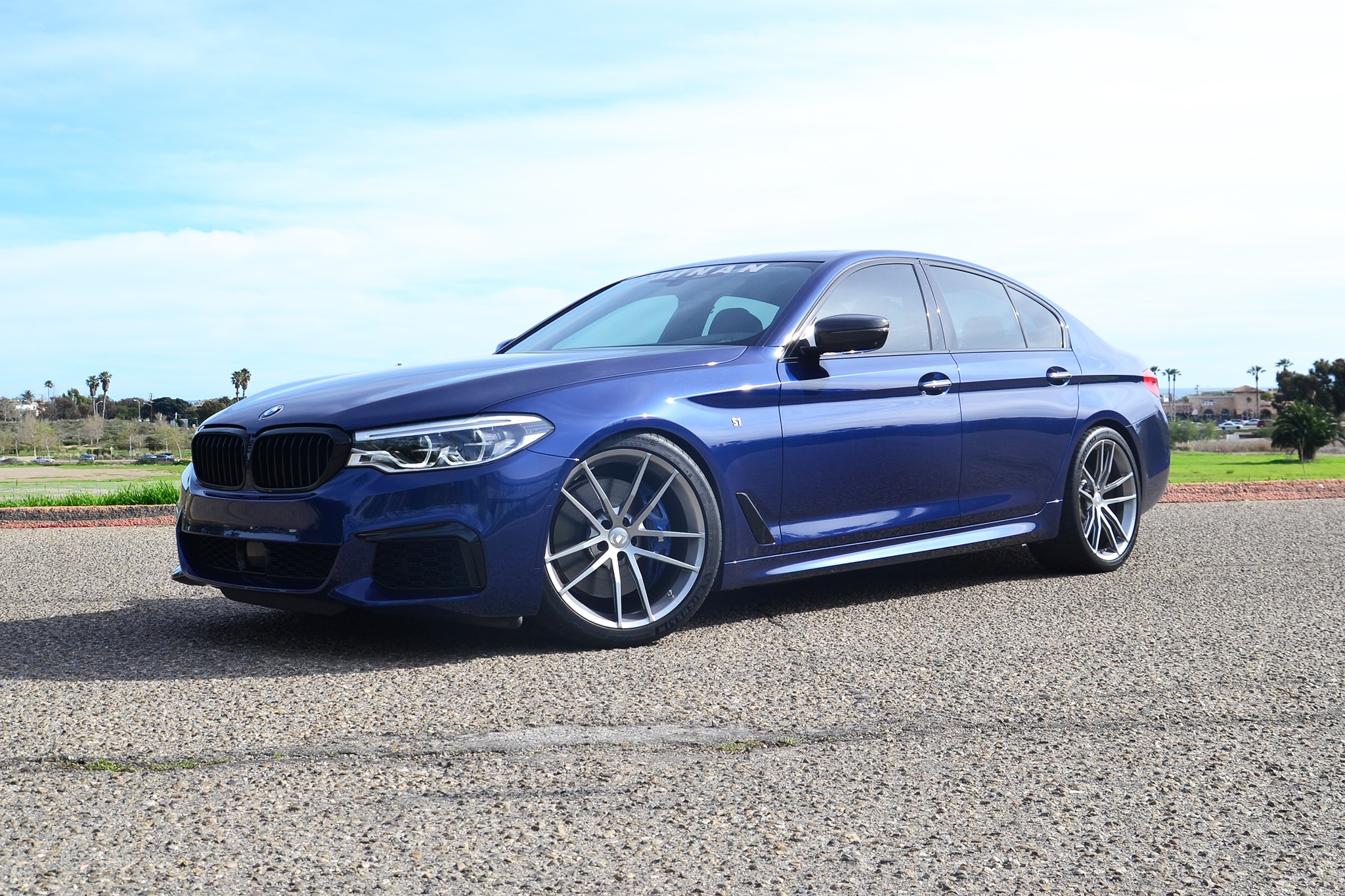 2018 Dinan M550i S1 Front Three Quarters