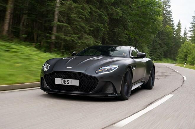 2019 Aston Martin DBS Superleggera Satin Xenon Grey 22