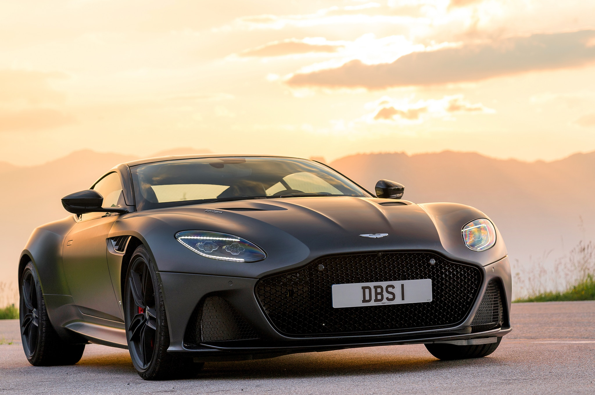 2019 Aston Martin DBS Superleggera Satin Xenon Grey 67