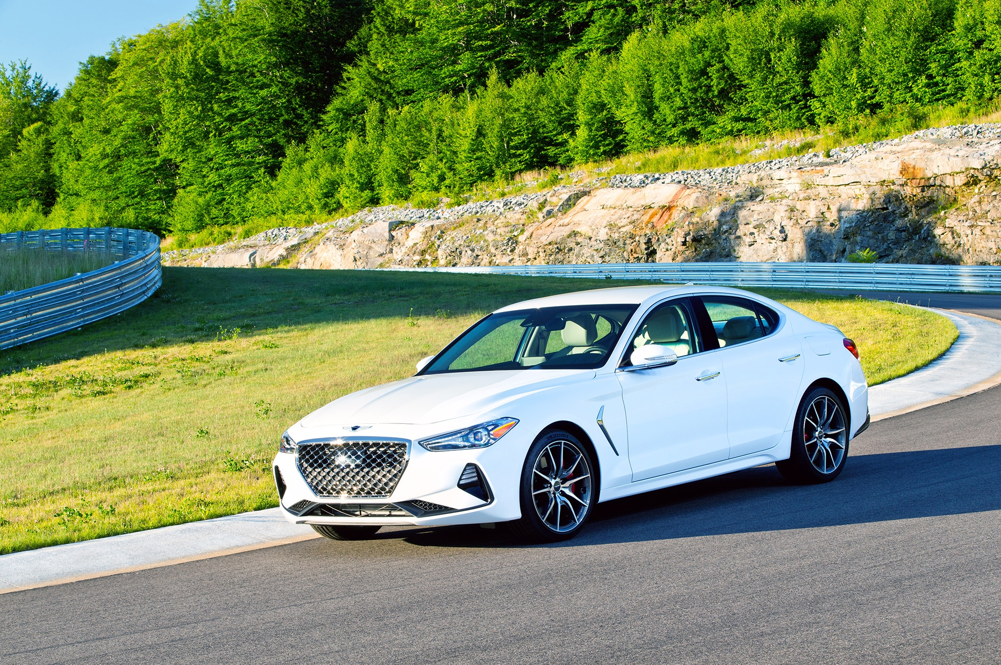 2019 genesis g70 first drive review automobile magazine 7 Speed Manual Transmission Manual Transmission Diagram