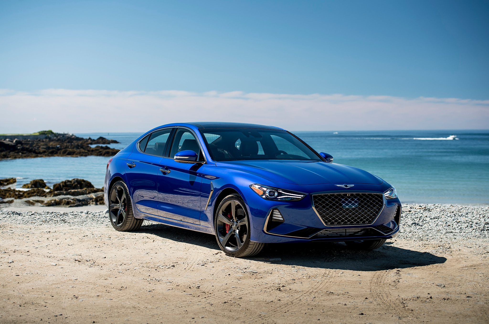 2019 Genesis G70 First Drive Review Automobile Magazine