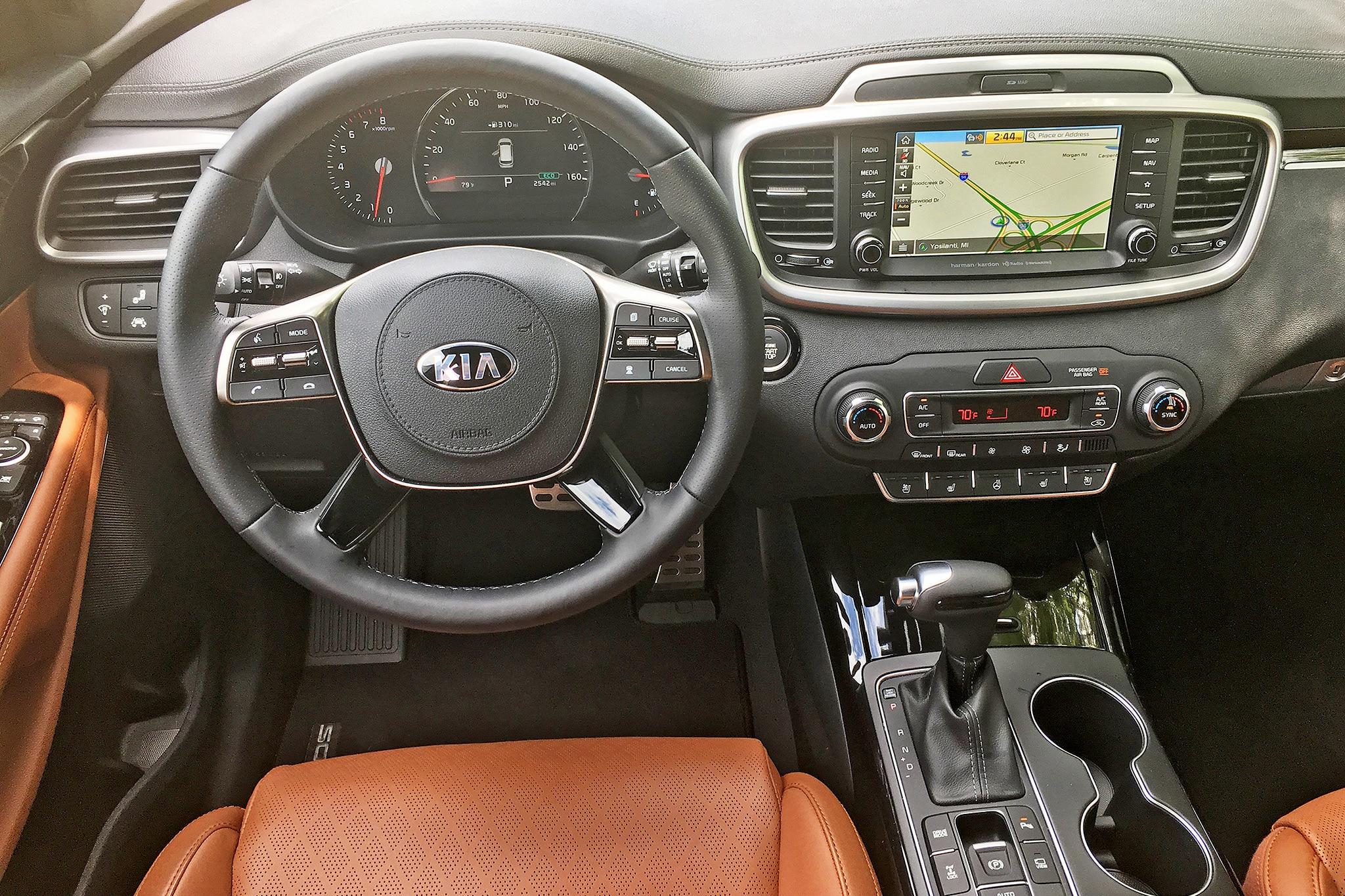 2019 Kia Sorento Sxl Awd One Week Review Automobile Magazine