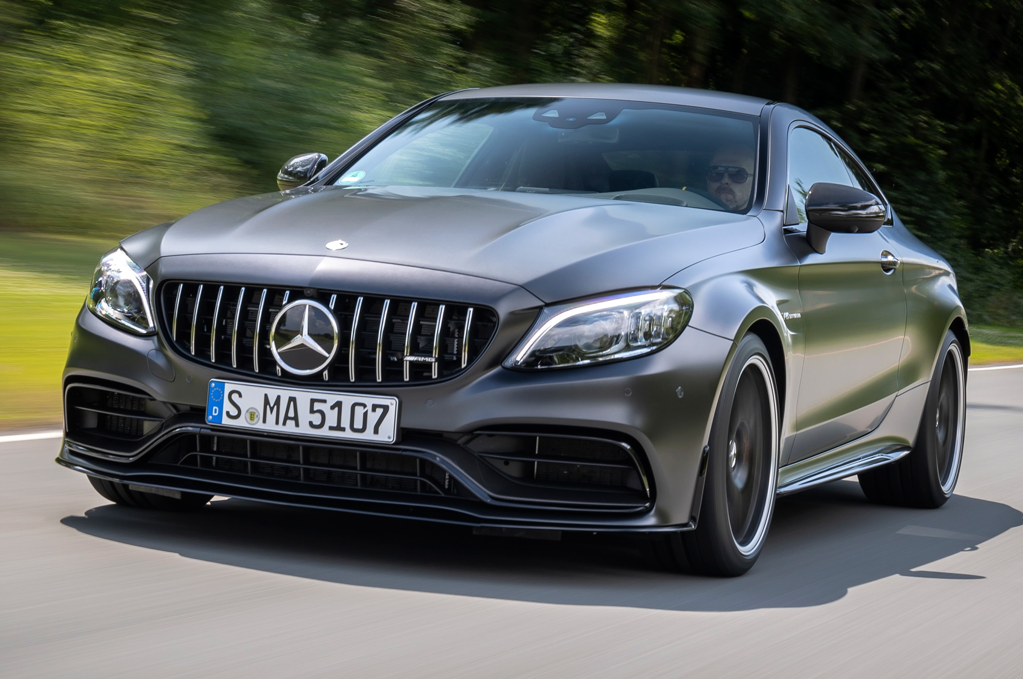 Mercedes C63 Amg 0 60 >> 2019 Mercedes Amg C 63 S Coupe First Drive Review