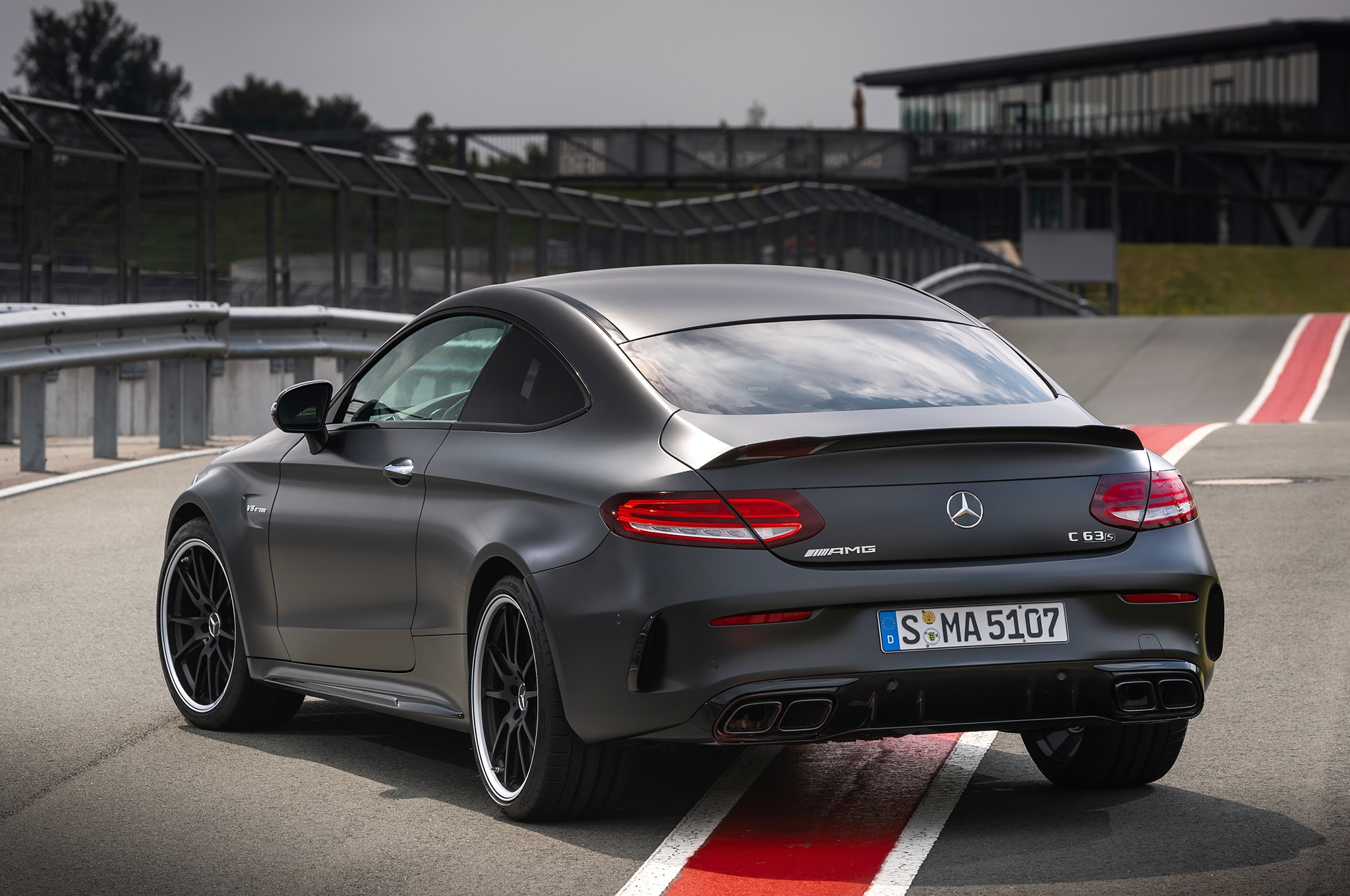 2019 Mercedes Amg C 63 S Coupe First Drive Review Automobile Magazine