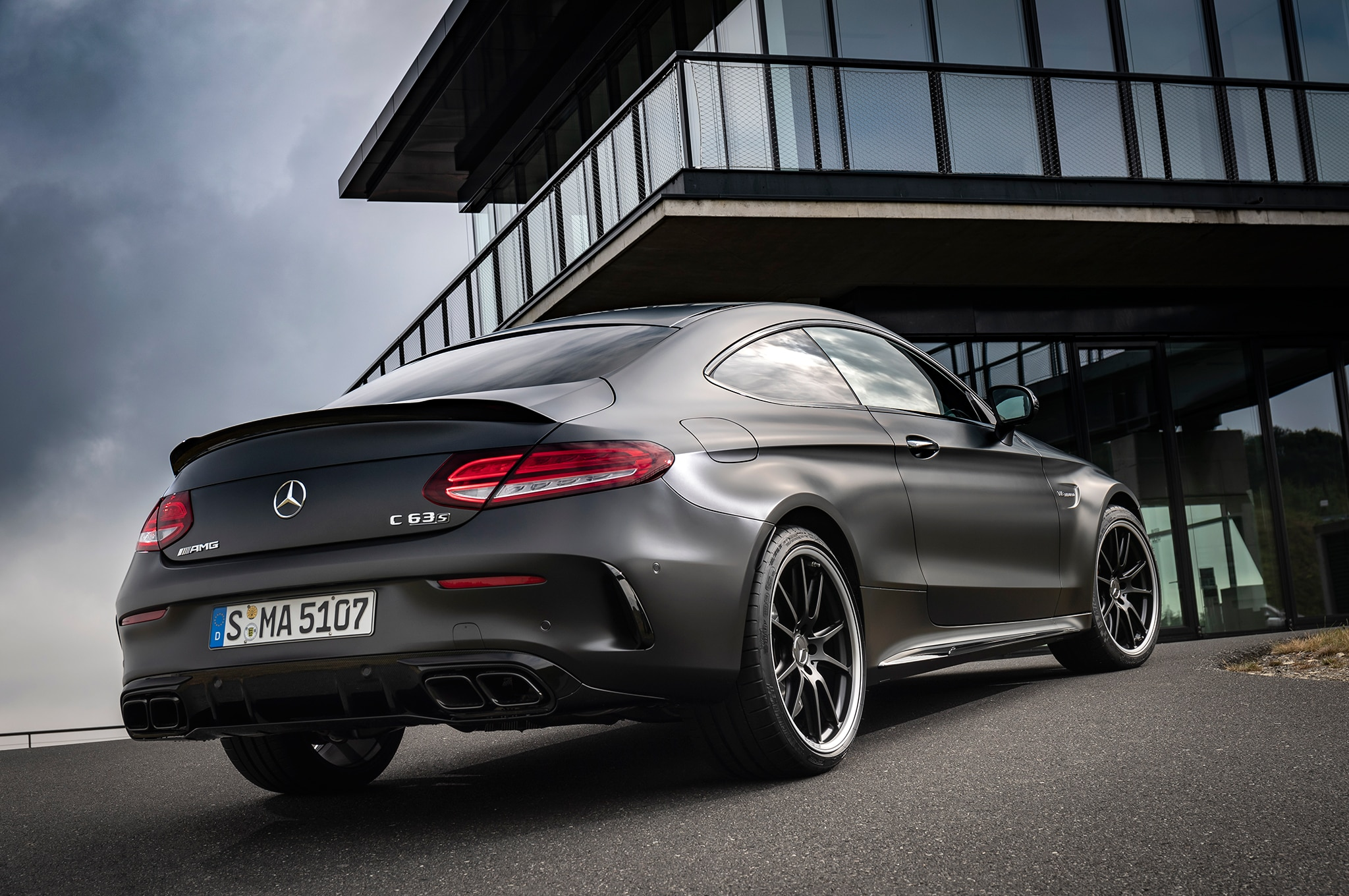 2019 mercedes amg c 63 s coupe first drive review automobile magazine. Black Bedroom Furniture Sets. Home Design Ideas