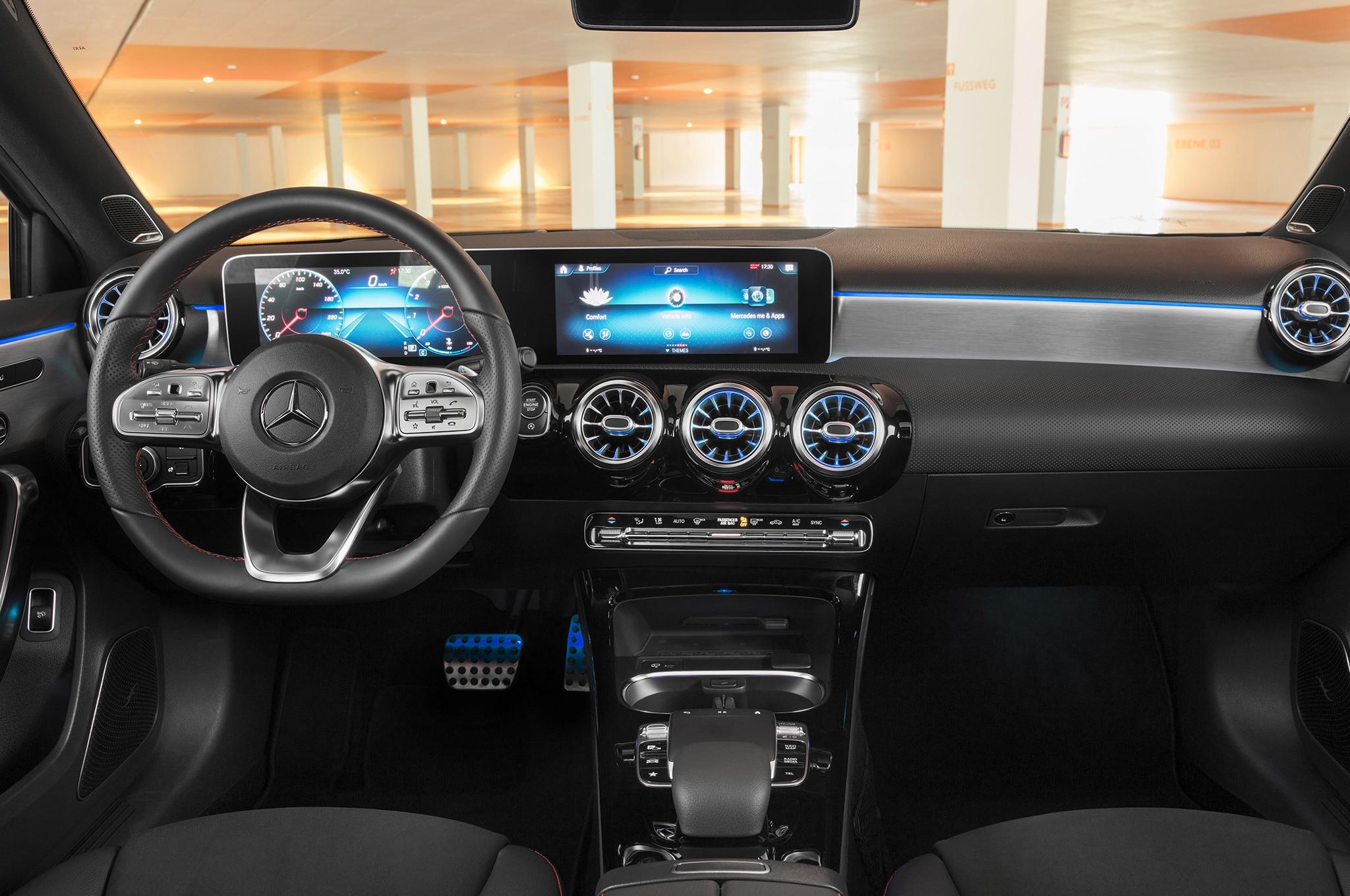 First Look 2019 Mercedes Benz A Class Sedan Automobile Magazine