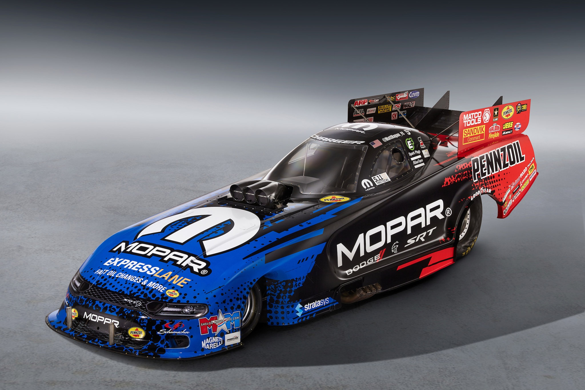 2019 Mopar Dodge Charger Srt Hellcat Nhra Funny Car Packs