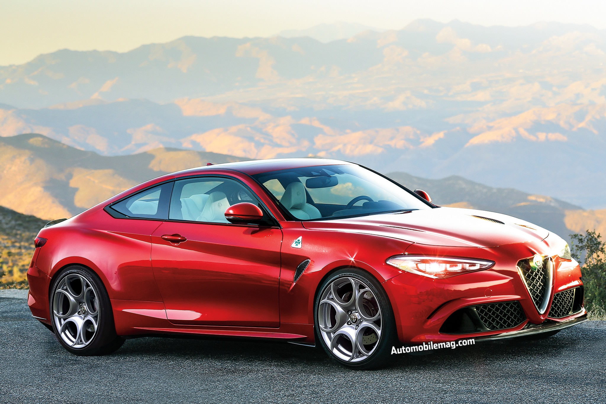 New Alfa Romeo >> 2019 New And Future Cars Alfa Romeo Gtv Automobile Magazine