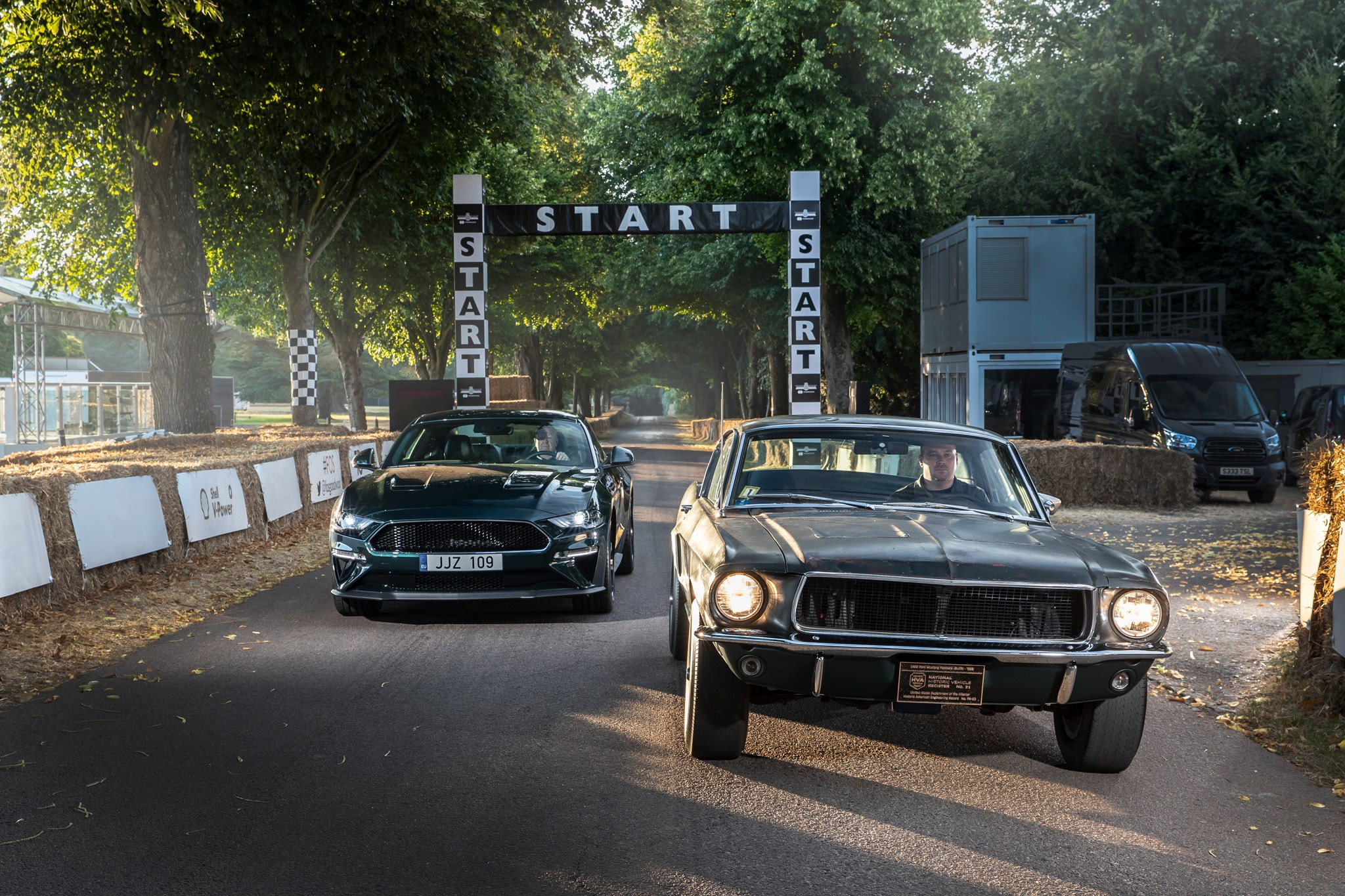 Ford Mustang Bullitts Of Goodwood
