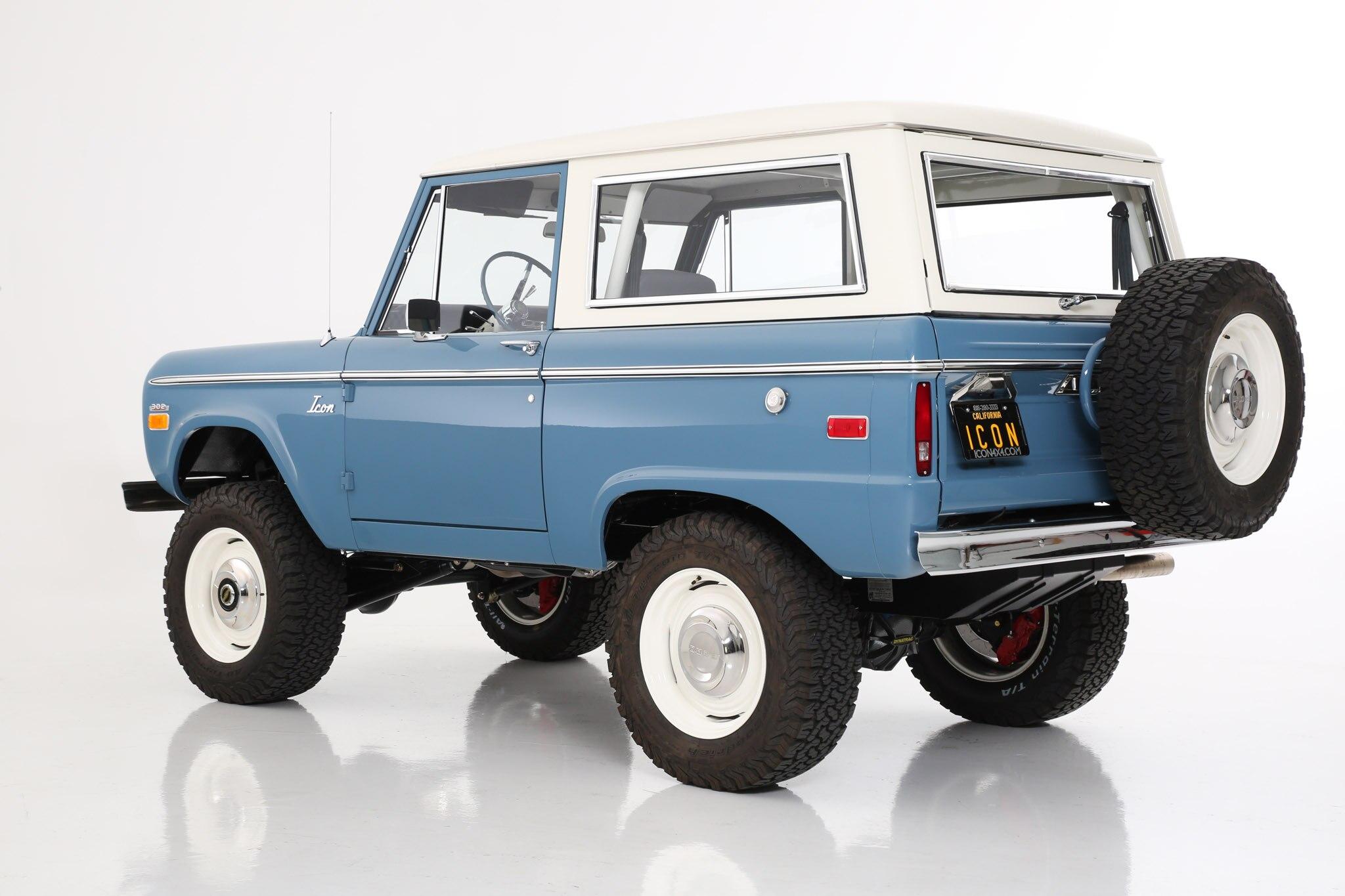 3f2a286f1e81 Icon Launches Classic Bronco Old School Series