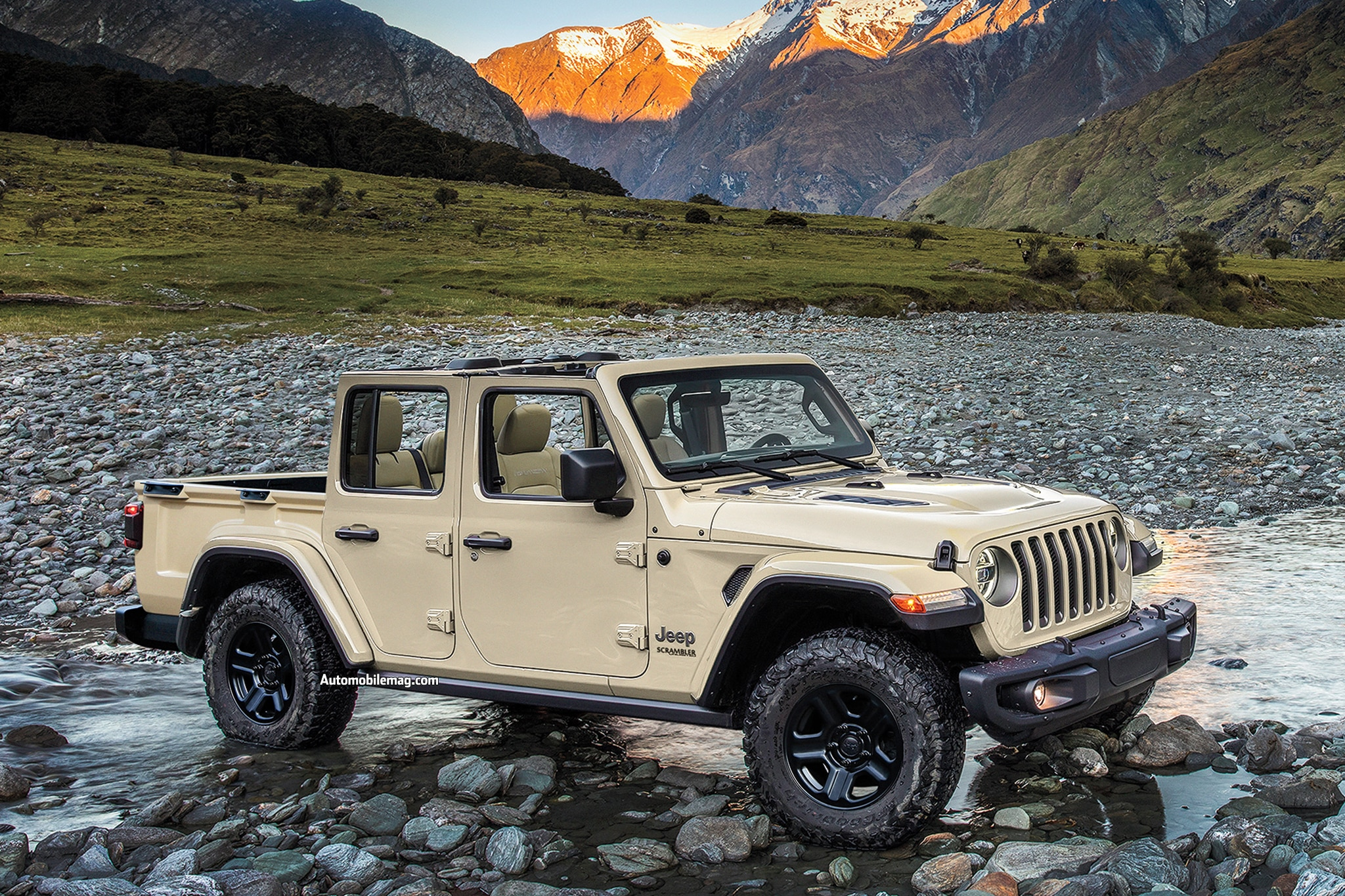 2019 new and future cars  jeep scrambler