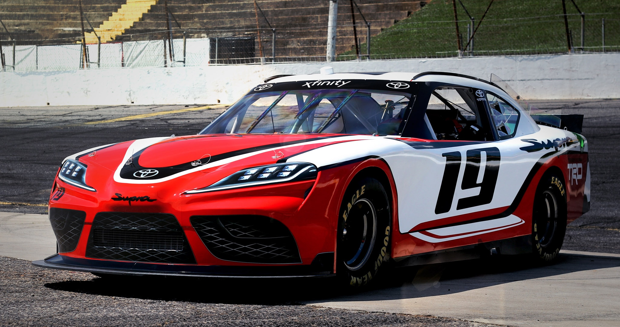 VWVortex.com - Toyota Supra revealed for the 2019 NASCAR ...