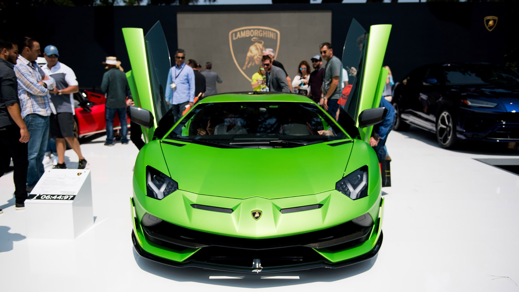 1 Unveiling Of Lamborghini SVJ At The Quail 10