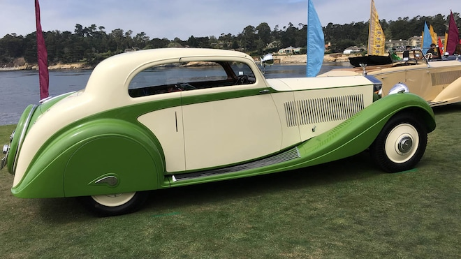 best cars of the 2018 pebble beach concours d elegance automobile