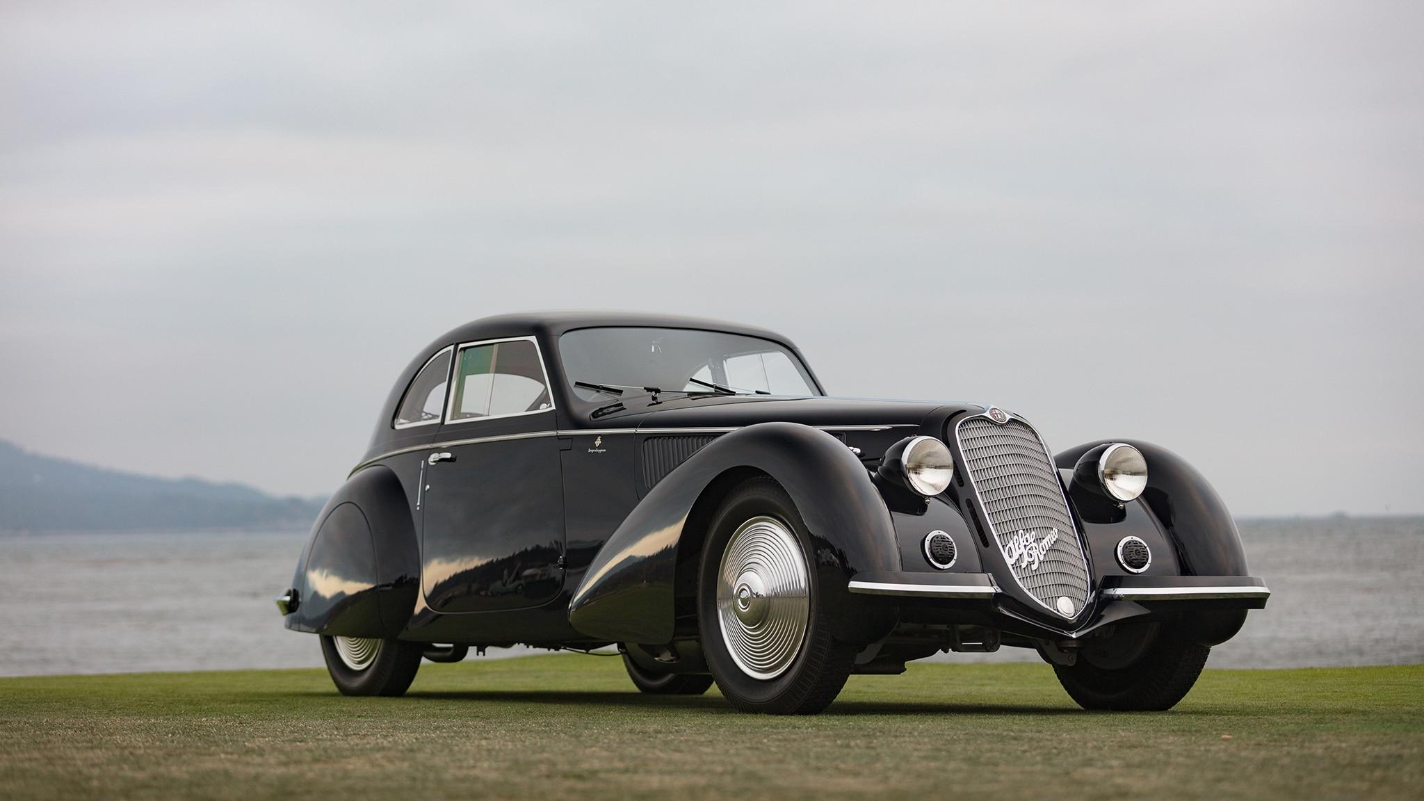 1937 Alfa Romeo 8C Pebble Beach Winner 02