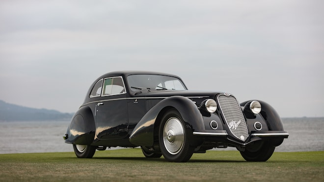 1937 Alfa Romeo 8C Pebble Beach Winner 02