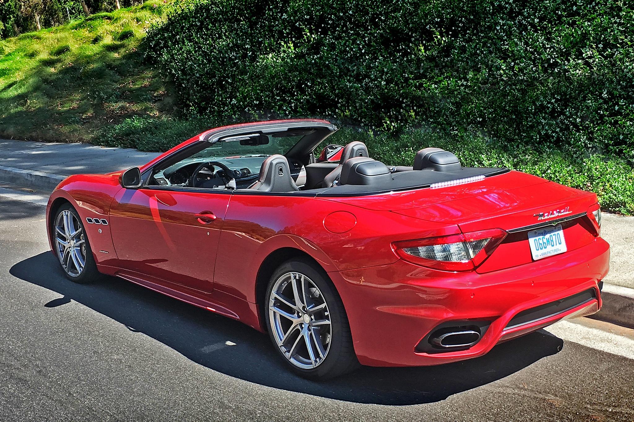2018 Maserati GranTurismo Convertible Sport One Week ...