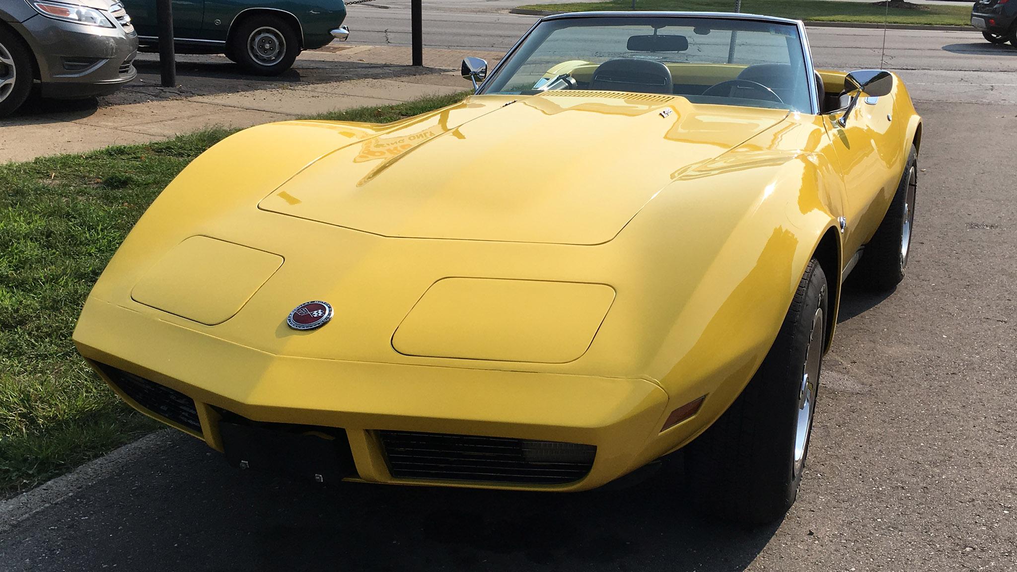 2018 Woodward Dream Cruise Week 1973 Chevrolet Corvette Hero