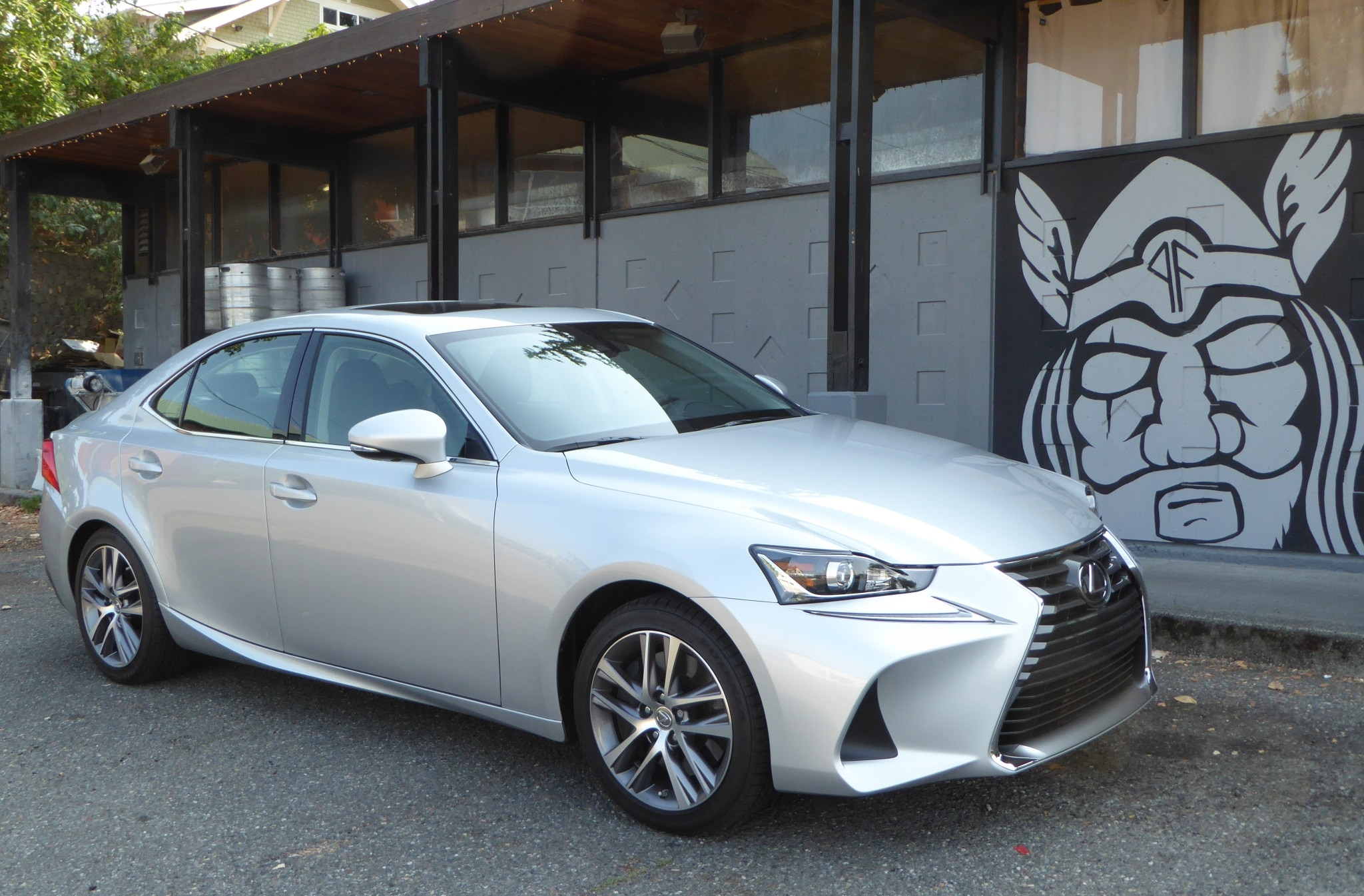 2018 Lexus Is300 Front Three Quarter