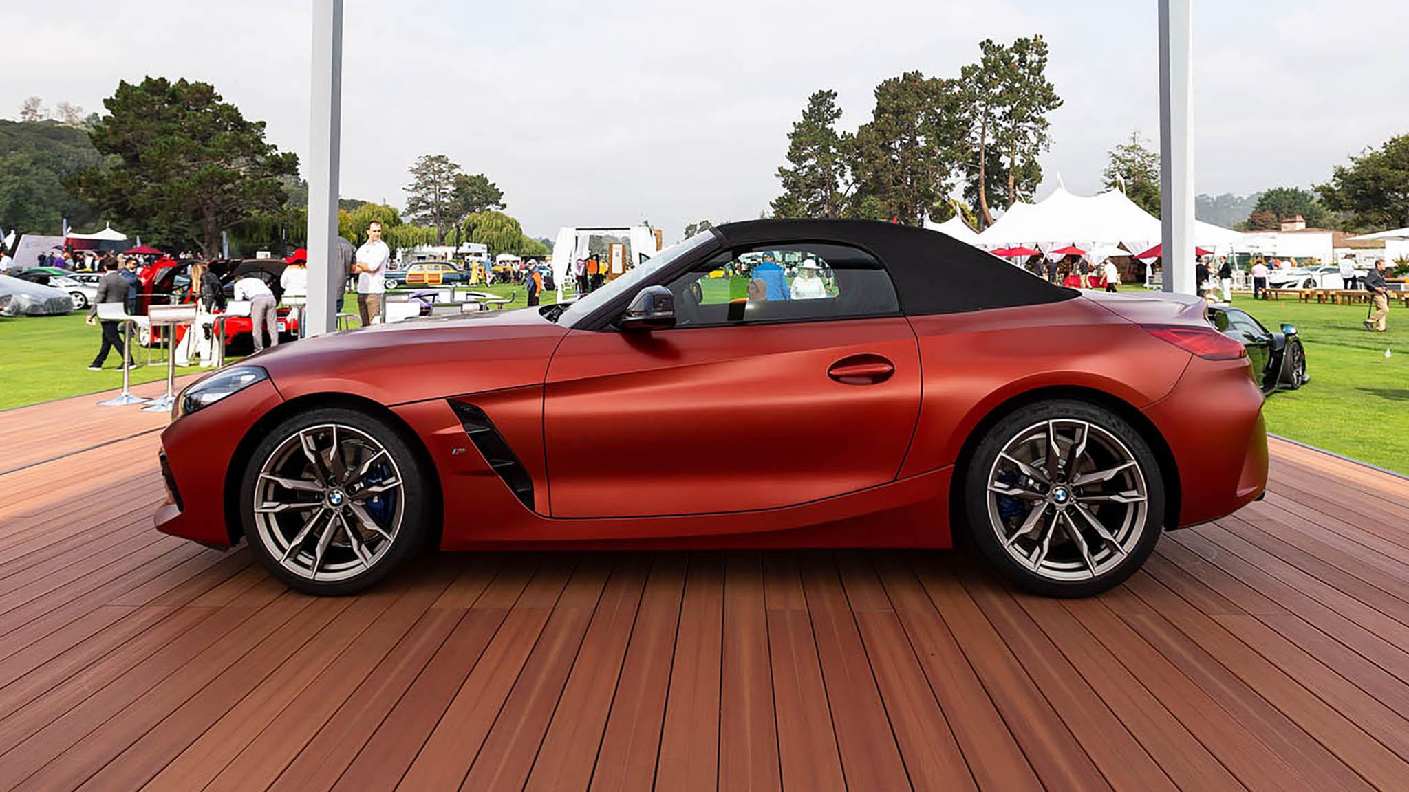 2019 BMW Z4 Pebble Beach Side
