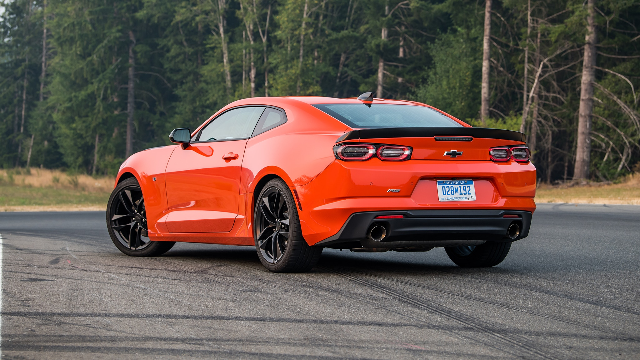 First Drive 2019 Chevrolet Camaro Turbo 1le Automobile Magazine
