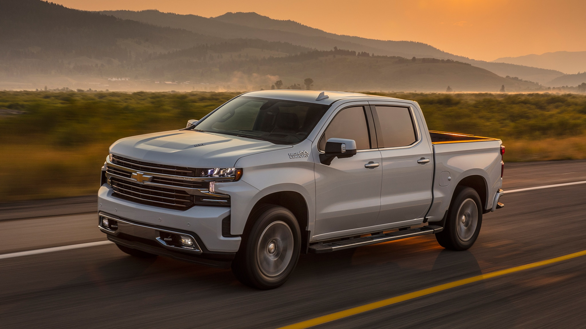 2019 chevrolet silverado high country first drive review. Black Bedroom Furniture Sets. Home Design Ideas