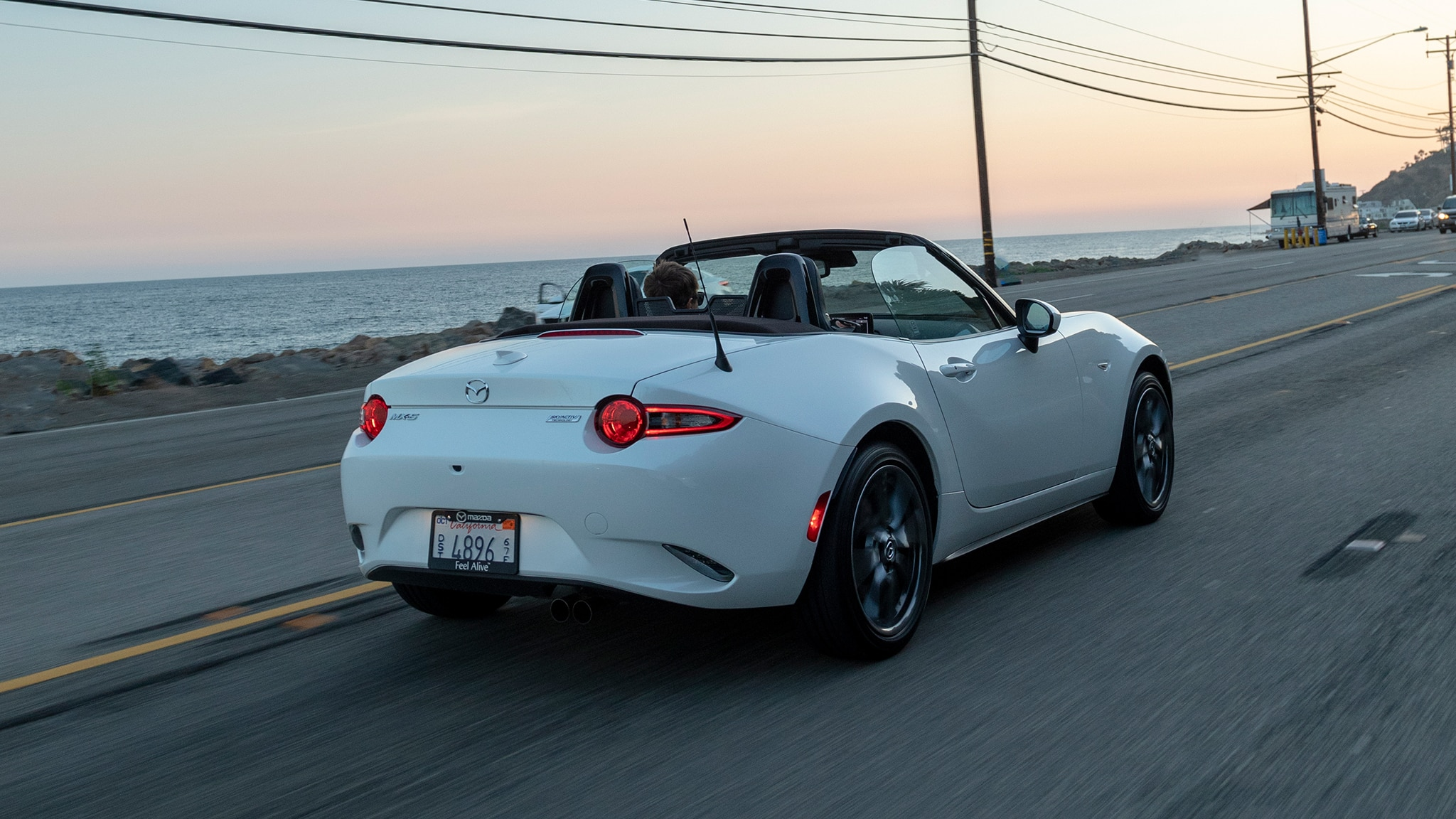2019 mazda mx 5 miata first drive review automobile magazine. Black Bedroom Furniture Sets. Home Design Ideas