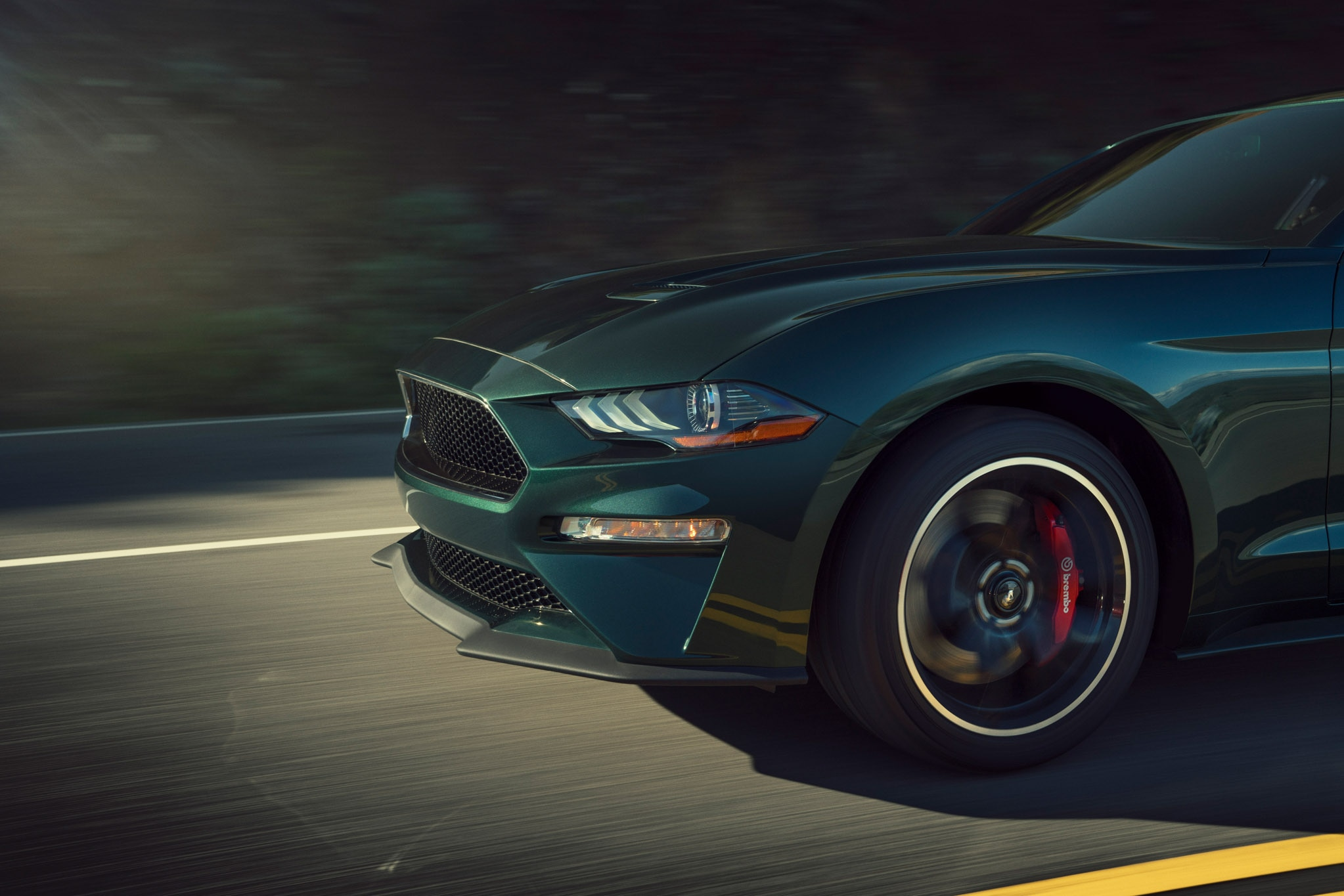 drive  ford mustang bullitt automobile magazine