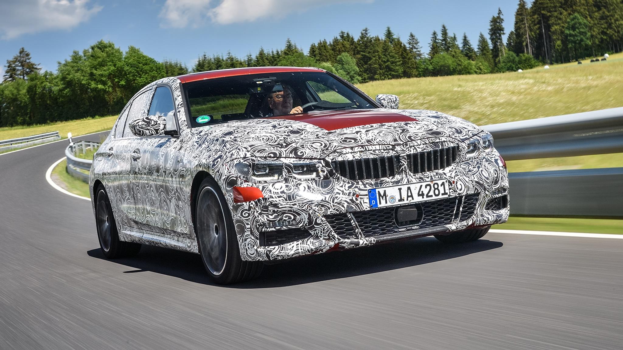 2020 BMW 3 Series Sedan Prototype 42