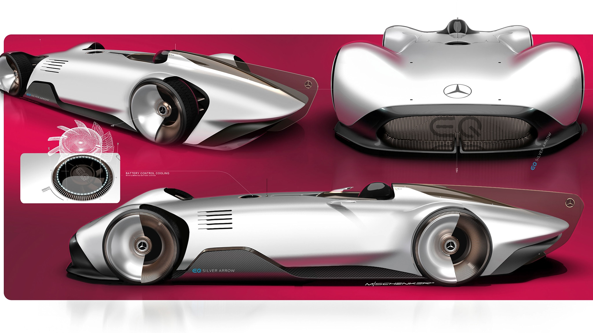 Mercedes-Benz Aims Electric Silver Arrow at Heart of ...