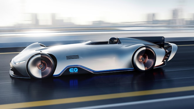 Mercedes Benz EQ Silver Arrow Concept 08