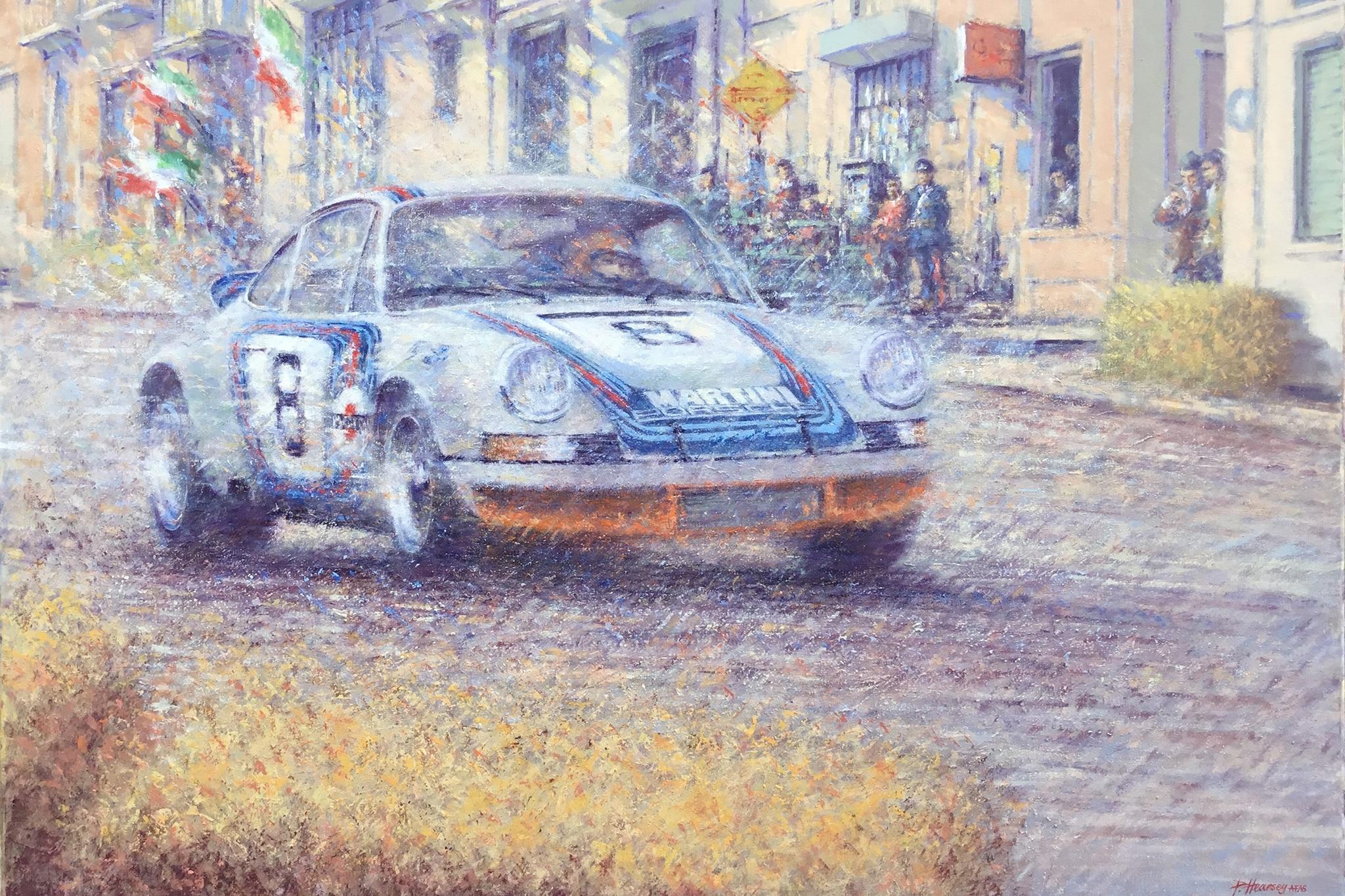 Porsche 911 Carrera RSR By Peter Hearsey