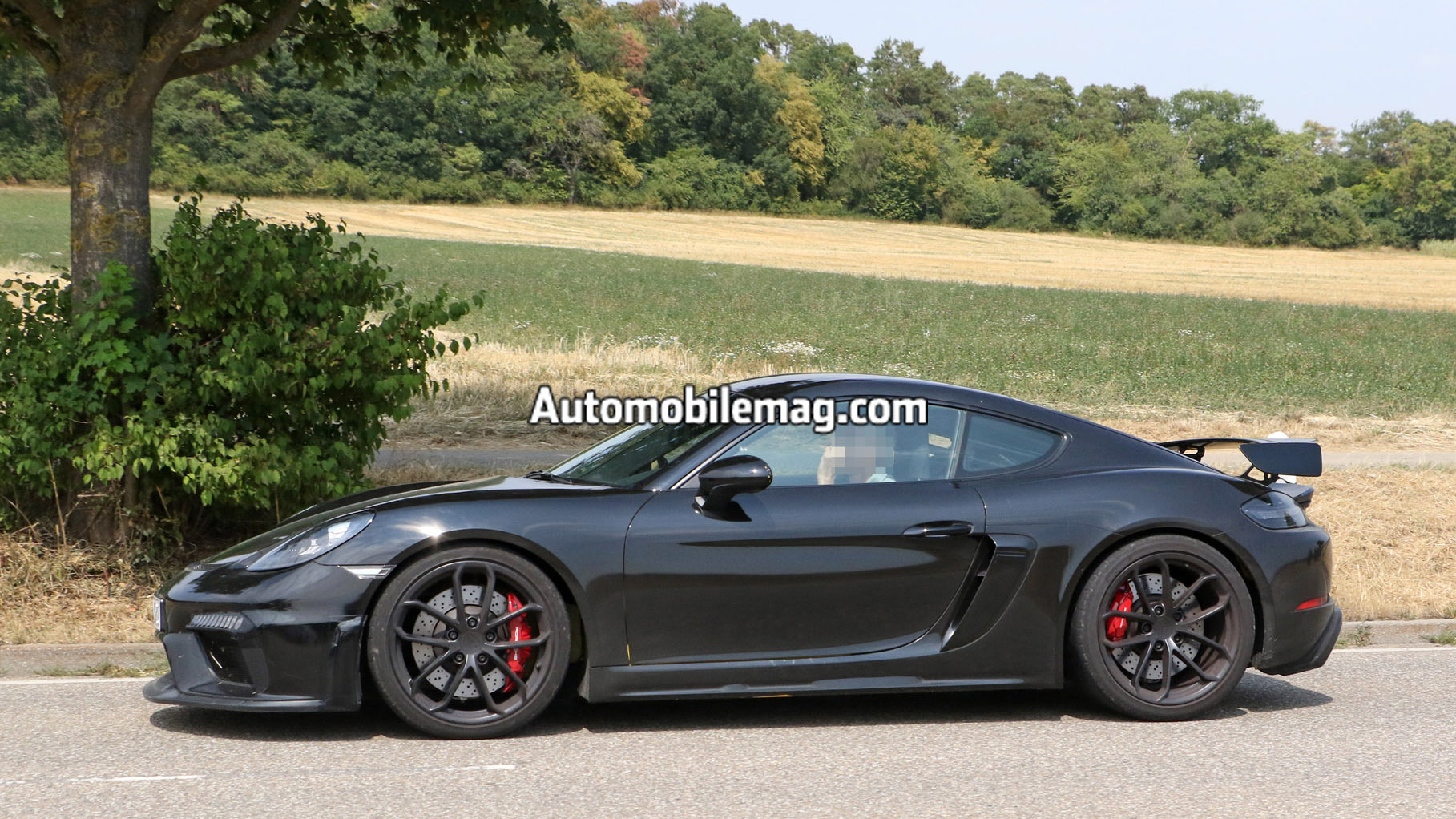 porsche 718 cayman gt4 and boxster spyder spied. Black Bedroom Furniture Sets. Home Design Ideas