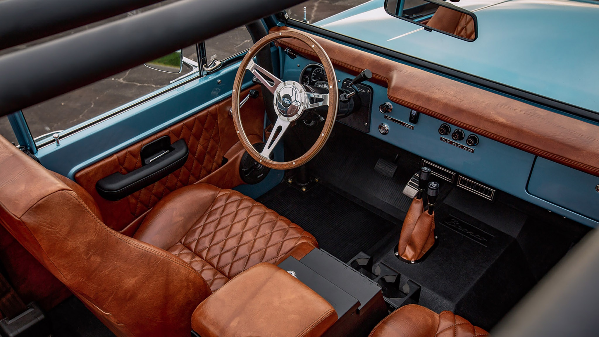 1973 Ford Bronco By Velocity Restorations Automobile Magazine 2015 Interior Show More