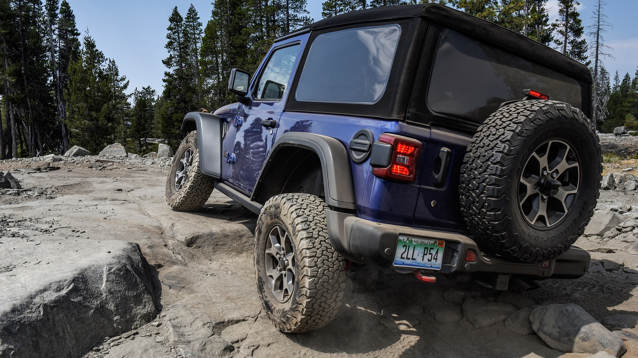We Tackle the Rubicon Trail in a Jeep Wrangler Rubicon