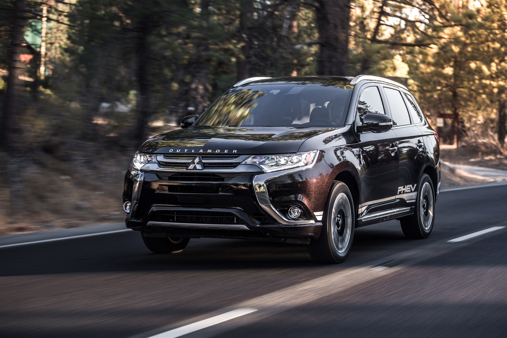 Quick Take 2018 Mitsubishi Outlander Phev Automobile