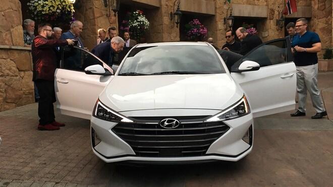2019 Hyundai Elantra Limited Front