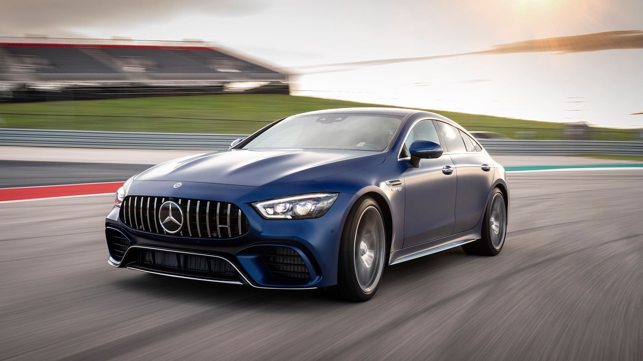2019 Mercedes Amg Gt 4 Door First Drive Review Automobile Magazine