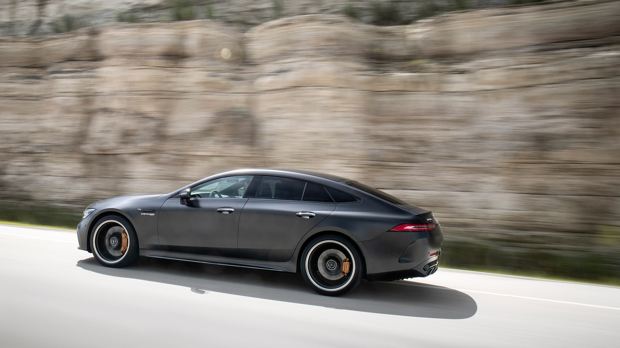 2019 mercedes amg gt 4 door first drive review automobile magazine. Black Bedroom Furniture Sets. Home Design Ideas