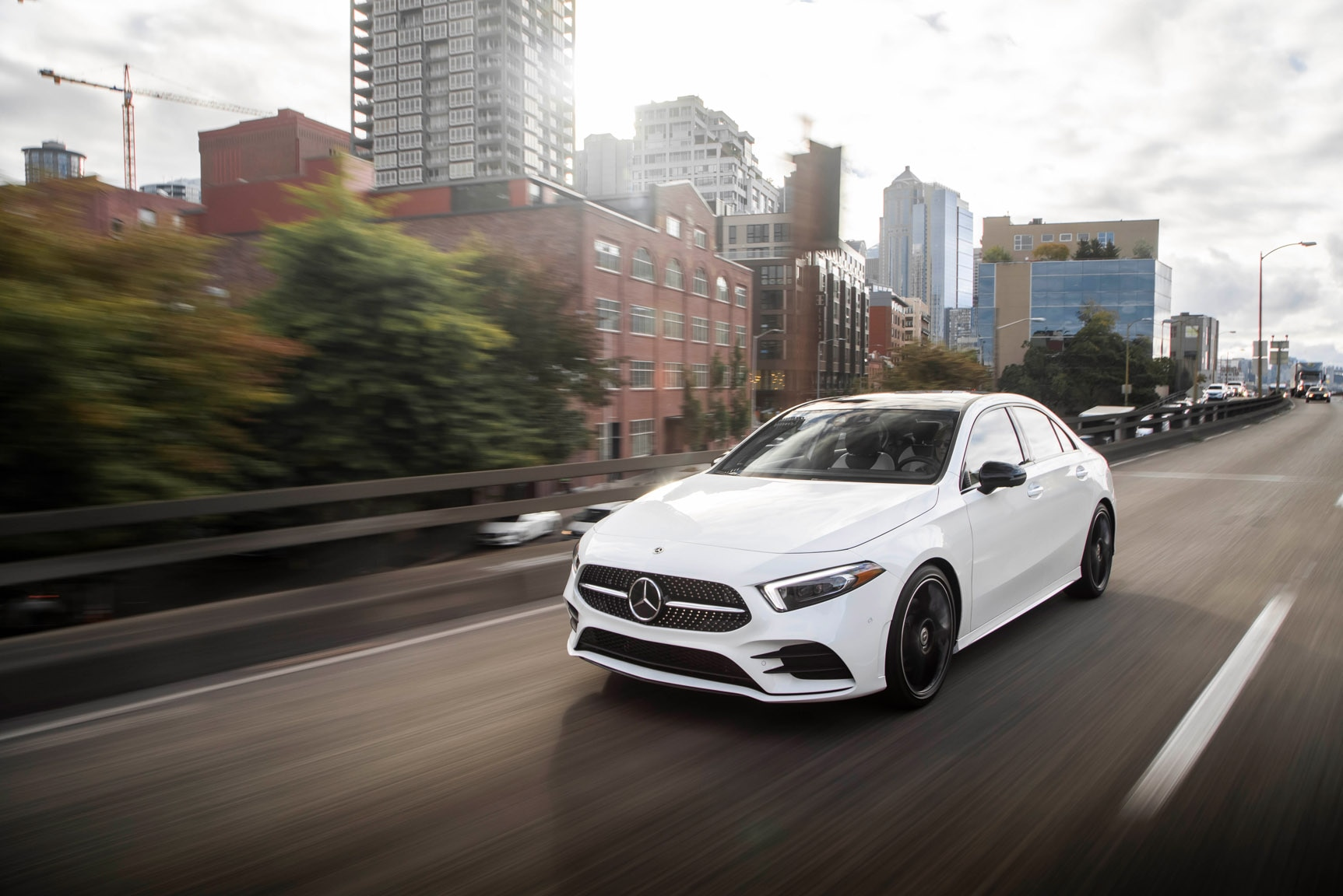 2019 mercedes benz a220 first drive review automobile. Black Bedroom Furniture Sets. Home Design Ideas