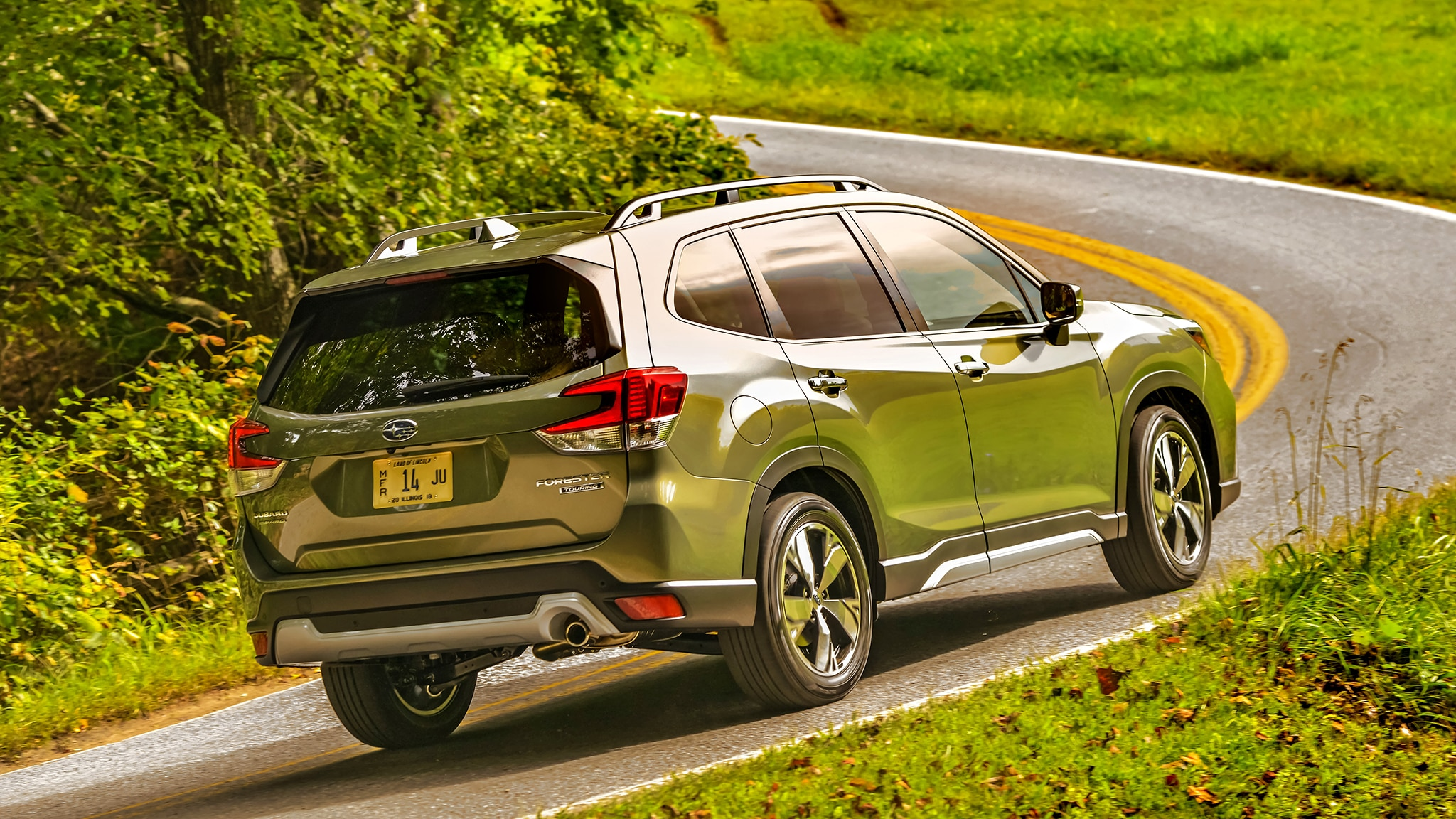 2019 Subaru Forester First Drive Review Automobile Magazine