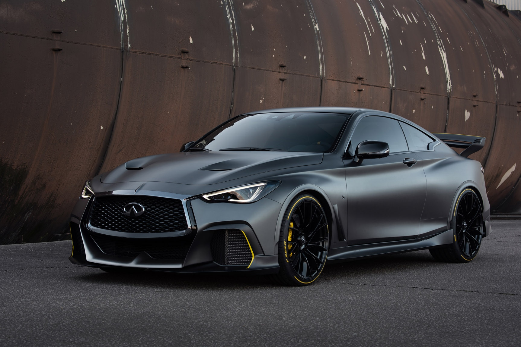 infiniti project black s makes 563 horsepower for paris