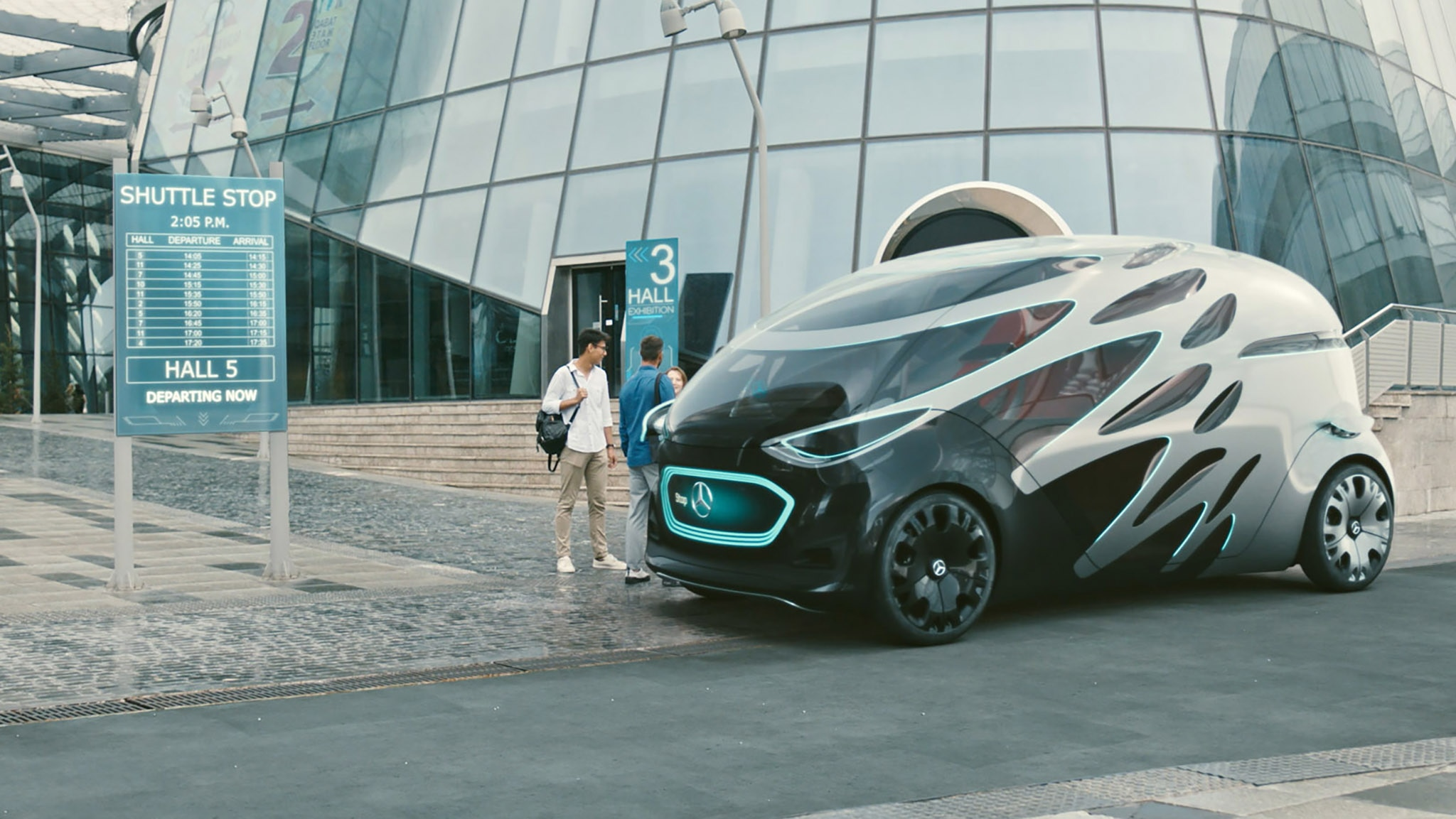 Mercedes Benz Vision Urbanetic People Mover Module 7