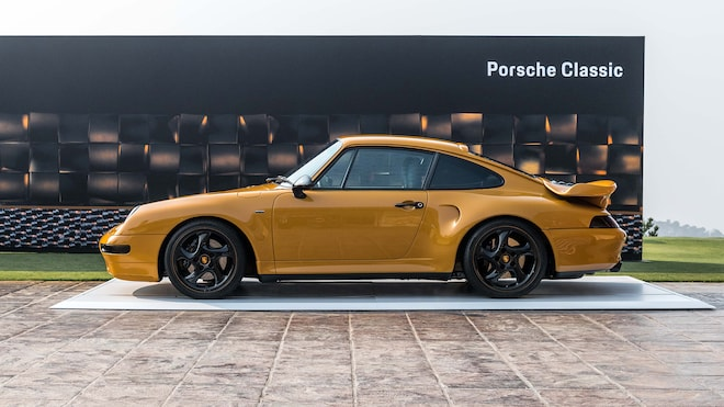 Porsche Project Gold Live Reveal Side