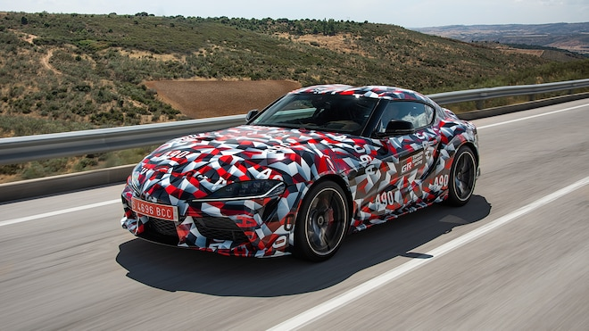 First Mkv 2020 Toyota Supra Will Be Auctioned At Barrett Jackson