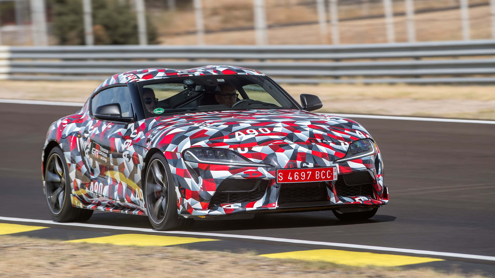 first mkv 2020 toyota supra will be auctioned at barrett
