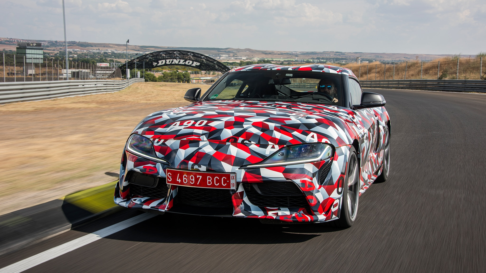 This Is the New 2020 Toyota Supra's Front End | Automobile ...